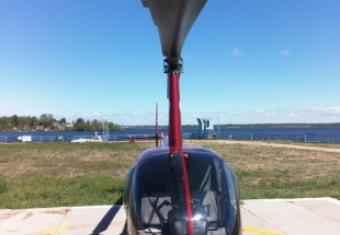 Наш вертолёт Robinson r44